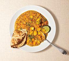 Vegan: Red Lentil Curry recipe