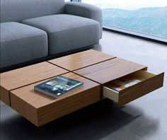 Cool 48 Pretty Coffee Table Design Ideas To Try Asap