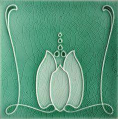 Sherwin & Cotton c1906/07 - RS0761 - Art Nouveau Tiles