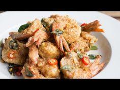 Salted Egg Yolk Prawns – 牛油黃金虾   The MeatMen