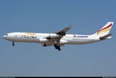 Plus Ultra Lineas Aereas (Cubana de Aviacion) Airbus A340-313 (registered EC-MFA)