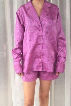 Orchid Pure Silk Pyjamas