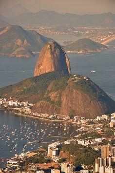 Pão de Açúcar ~ Sugarloaf Mountain, Rio de Janeiro, Brazil