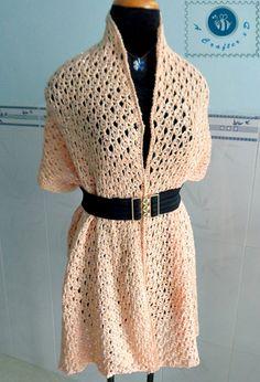 Crochet sequins wrap - Maz Kwok's Designs