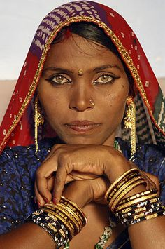 Indian Woman, by Mirjam Letsch.