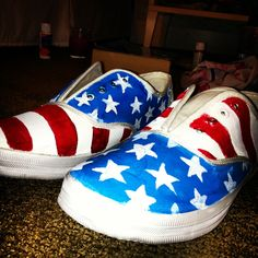 Painted Keds