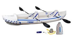 Find Sea Eagle 370 Pro 3 Person Inflatable Portable Sport Kayak Canoe Boat w/ Paddles online. Shop the latest collection of Sea Eagle 370 Pro 3 Person Inflatable Portable Sport Kayak Canoe Boat w/ Paddles from the popular stores - all in one Inflatable Fishing Kayak, Best Fishing Kayak, Inflatable Boats, Fishing Boats, Backpacking Gear, Camping Gear, Kayak Seats, White Water Kayak, Ocean Kayak