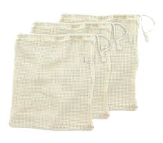 Ecobags Organic Net Produce Bag- Pack of 3_$16.99_cotton_10 x 12 inches