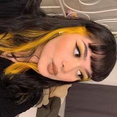 Cosmic Sunshine – Arctic Fox - Dye For A Cause Hair Color Streaks, Hair Color Purple, Hair Dye Colors, Hair Highlights, Blonde Streaks, Blonde Dye, Color Yellow, Under Hair Dye, Under Hair Color