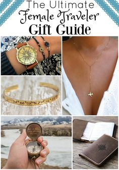 Looking for holiday gifts for travelers? From jewelry to luggage and more, this gift guide for female travelers is sure to provide some inspiration...and all for less than $100!