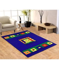 FabLooms Blue Abstract Carpets, http://www.snapdeal.com/product/fablooms-blue-ethnic-carpets/146559603