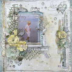 """Beautiful & Magical Soul. Amy Voorthuis. Twee verschillende 49 and Market collecties genaamd """"Scents of Nature"""" en """"Vintage Artistry"""""""