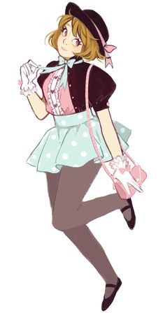 I only want to draw hanayos