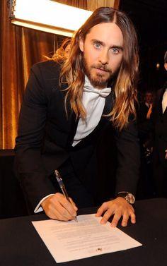 JL  You could sign the marriage certificate with me so. XD
