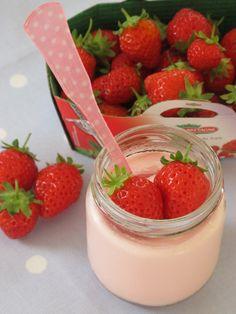 Un yaourt à la fraise très régressif.