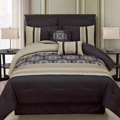 Shop for Medallion 8-piece Comforter Set. Get free shipping at Overstock.com - Your Online Fashion Bedding Outlet Store! Get 5% in rewards with Club O!