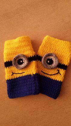 Minions Hand-Stulpen für Kinder