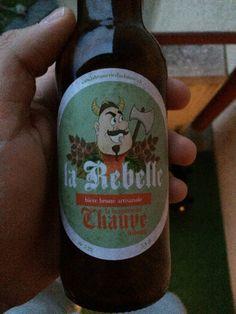 La Rebelle - bière du Chauve