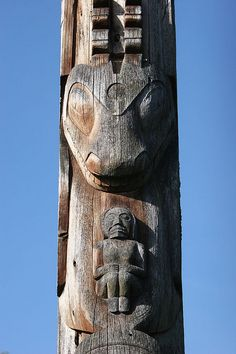 UBC Totem Poles - Vancouver, British Columbia, Canada by kk+, via Flickr