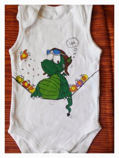 Este body está chulísimo para un niño o una niña, ya sabéis que se puede adaptar también a camisetas, eh?   El precio del body es 10€ y s...