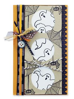 Ghostly Windows Card