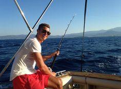CR7, 'el pescador'