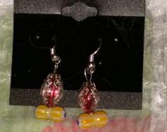 Unique Glass Earrings--SCA, Renaissance, Viking, Birthday, Anniversary, Gift - Edit Listing - Etsy