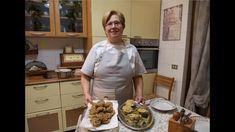 CARCIOFI RIPIENI E FRITTI (PARTE 1) - RICETTA DELLA NONNA MARIA - YouTube Frittata, Italian Recipes, Side Dishes, Cooking Recipes, Carne, Food, Youtube, Fantasy, Vegetables