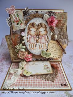 """me and my craft corner : """"Our name is Rose"""" Card"""