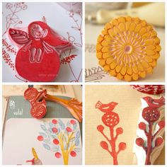 My Laughing Lion: Hand Carved Stamps and Photo Help