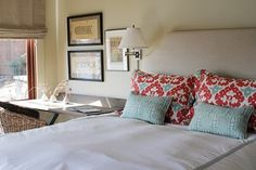Bedroom Photos Design, Pictures, Remodel, Decor and Ideas - page 3 I like this headboard.