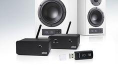 Mit Nubert nuFunk soll eine flexible, universell einsetzbare Funk-Lösung zur Verfügung stehen, um Lautsprecher-Systeme drahtlos ansteuern zu können, insbesondere natürlich Aktiv-Lautsprecher-Systeme.
