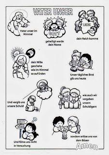 Sgblogosfera Amigos De Jesus Padrenuestro En Distintos Idiomas Catequesis Oraciones Para Ninos Padrenuestro