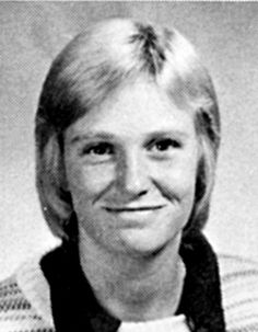 Jane Lynch from Glee high school photo