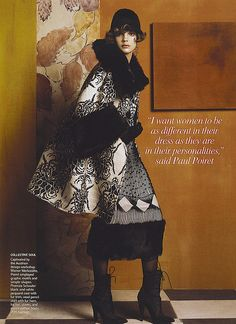 "Steven Meisel - ""Fashioning the Century"" - Vogue US Mayo 2007"