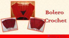 Este bolero para mujer está hecho con la técnica del crochet y se puede cerrar con un botón, haciendo lazo con cinta  o simplemente dejarlo abierto.  Te invito te animes hacerlo.  http://youtu.be/OzcXJAxEcBw