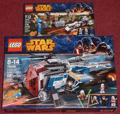 More New 2014 Star Wars Lego Sets Hopefully, my last Star Wars Lego at Toys 'R Us this week. 75037 - Battle on Saleucami 75046 - Coruscant Police Gunship