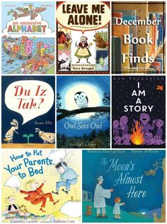 December 2016 Book Finds: abcs, owls, the moon, knitting, bugs, stories, history, and bedtime - 3Dinosaurs.com