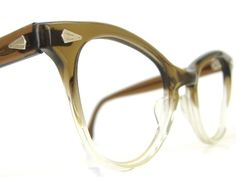Vintage Atomic 50s Cat Eye Glasses or by Vintage50sEyewear on Etsy, $68.00