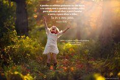 E ponho as minhas palavras na tua boca, e te cubro com a sombra da minha mão; para plantar os céus, e para fundar a terra, e para dizer a Sião: Tu és o meu povo. Isaías 51:16 *Instagram http://instagram.com/maravilhosopai  #maravilhosopai #fé #faith #bible #inspiração