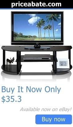 Entertainment Units TV Stands: Tv Stand Entertainment Center Console Media Wood Furniture Storage Home Theater BUY IT NOW ONLY: $35.3 #priceabateEntertainmentUnitsTVStands OR #priceabate