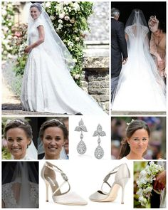 """744 Likes, 6 Comments - Catherine elizabeth (@_duchesskatemiddleton) on Instagram: """"Philippa Charlotte Middleton 's wedding outfit: Pippa was a radiant bride in a bespoke Giles Deacon…"""""""