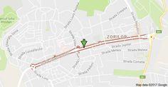 Harta pentru Strada Observatorului, Cluj-Napoca
