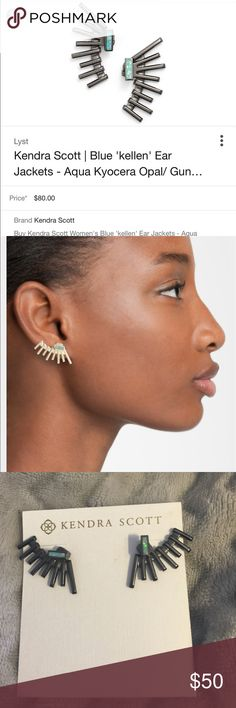 Kendra Scott Kellen ear jackets Kellen Scott ear jackets by Kendra Scott Kendra Scott Jewelry Earrings