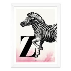 Buchstabe Z wie Zebra - ein & alles Wandkunst für Kinder Moose Art, Poster, Animals, Letter F, Name Day, Respect Activities, Great Gifts, Kids, Nice Asses