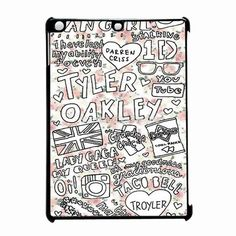 Tyler Oakley Floral Collage iPad Air Case