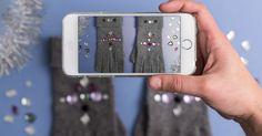 C&A pokazuje, jak ozdobić gładkie rękawiczki i stworzyć wyjątkowy, świąteczny podarunek.