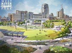 Nashville is getting a riverfront amphitheater, dog park & more!