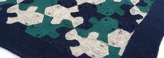 Escher-inspired tessellating fish blanket
