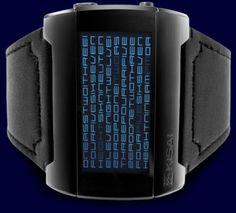 Kisai Kaidoku LCD Word Watch | Walyou
